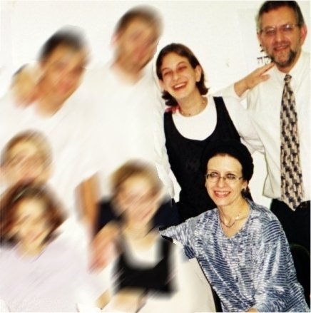 Malki Roth with her family