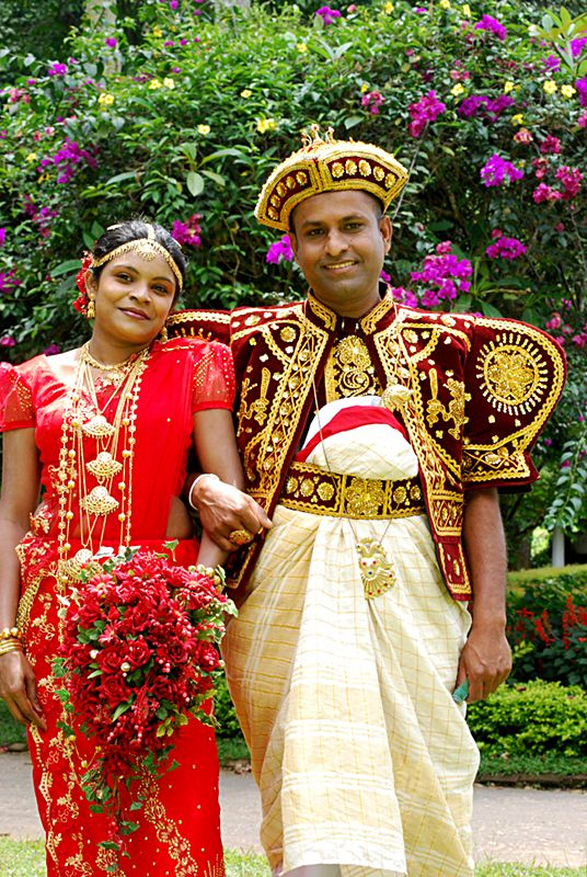 A wedding in Sri Lanka (photo credit: CC BY-SA Pelarrou, Flickr)