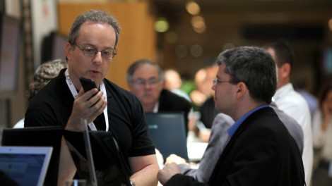 High Tech Industry Association (HTIA) convention in Jerusalem in 2011 (photo credit: Kobi Gideon/Flash90)