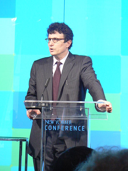 New Yorker editor David Remnick (photo credit CC BY-SA Martin Schneider, Wikipedia)
