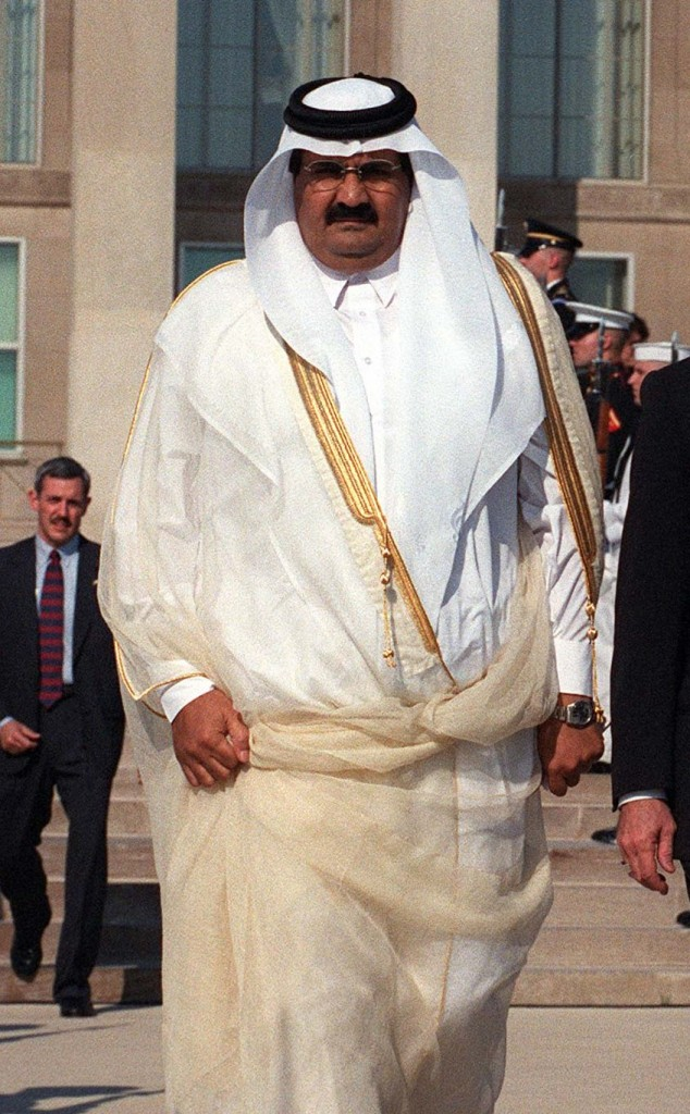 An intriguing statement. Sheikh Hamad bin Khalifa Al Thani (photo credit: public domain via Wikipedia)