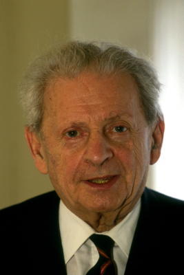 A particular brand of universalism. Emmanuel Levinas (photo credit: Serge Attal/Flash90)