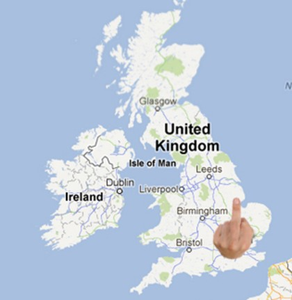 The capital of England is now Fingerhampton.