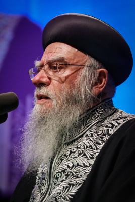 A separation of religion from government. Rabbi Eliyahu Bakshi-Doron (photo credit: Uri Lenz/Flash90)