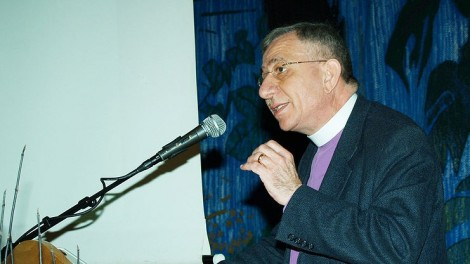 Bishop Munib Younan (photo credit: CC BY Kirkens informasjonstjeneste/Wikipedia)