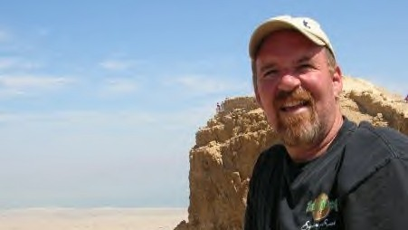 The author at Masada (photo credit: courtesy)