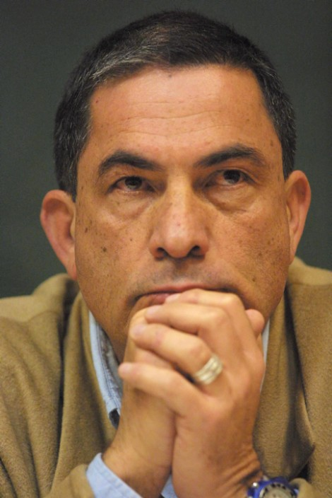 Haaretz journalist Gideon Levy (photo credit: Flash90)