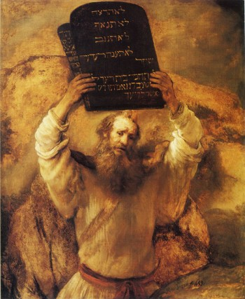 Rembrandt, 'Moses Breaking the Tablets of the Law, 1659