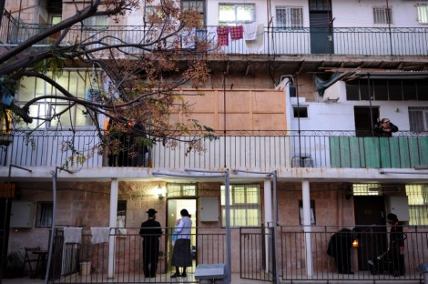 The Nachlaot neighborhood, Jerusalem (illustrative photo: Gili Yaari/Flash90)