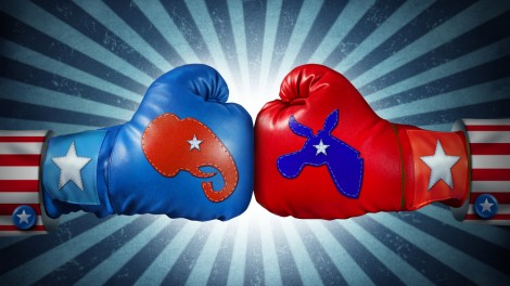 American election fight
