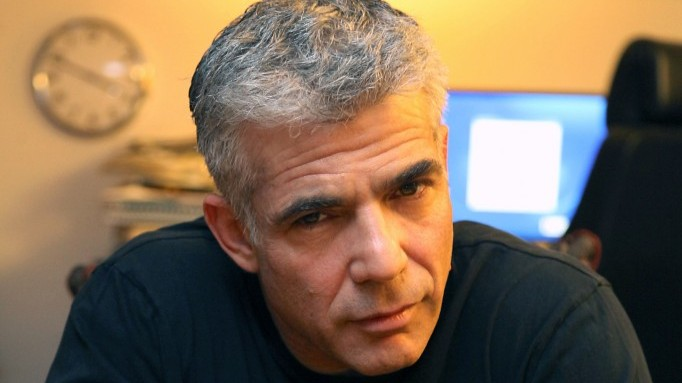 Please don't blow it.. Yair Lapid (photo credit: Gideon Markowicz/Flash90)