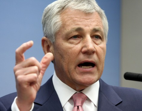 Chuck Hagel (AP Photo/Lauren Victoria Burke)