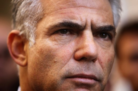 Yair Lapid (photo credit: Miriam Alster/Flash90)
