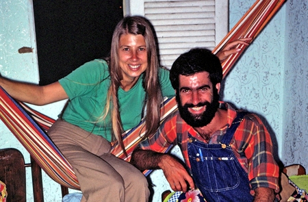 Mary and Shmulik, Brazil 1977 (photo: George Ayers)