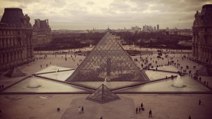 The Louvre. Photo by Avi Mayer.
