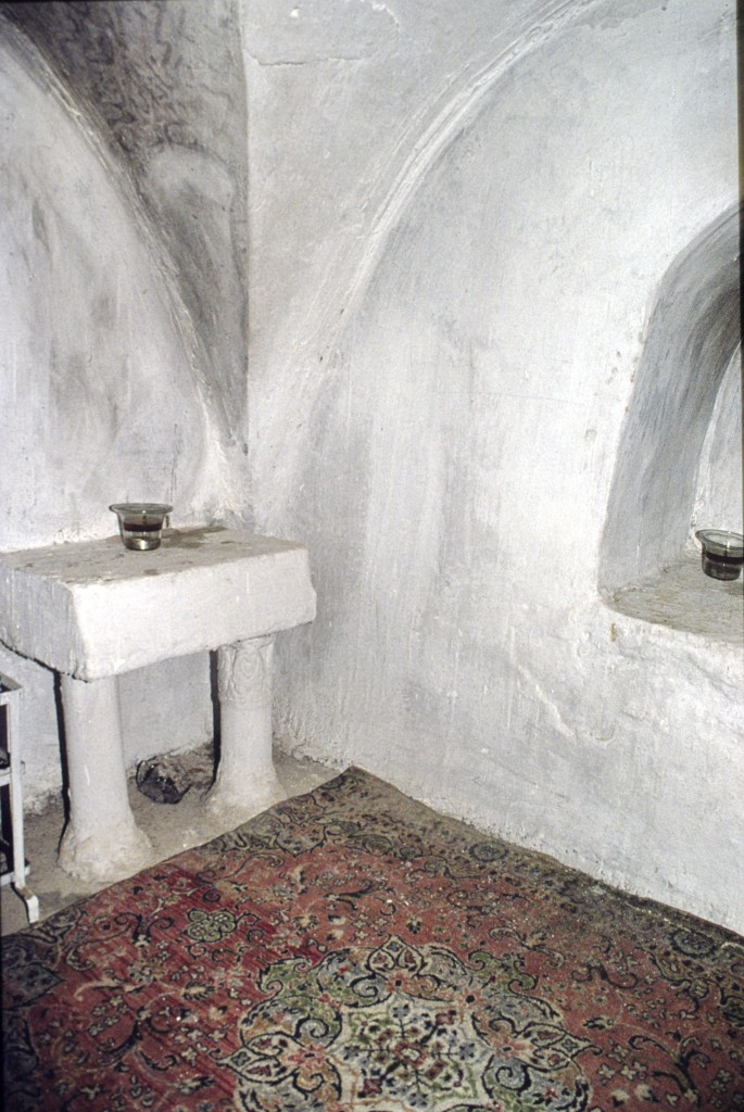 Shrine of Elijah, Jobar Synagogue -former burial chamber (Courstesy of Christoph Knoch)