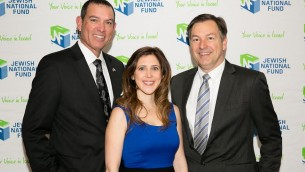 From L-Breakfast Chair Douglas Williams, Lisa Elkan, Co-Chairs Barak Lurie