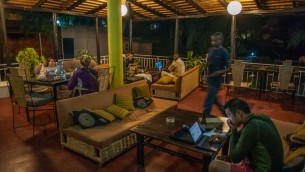 Veranda, Photo Courtesy of Discover Rwanda Youth Hostel