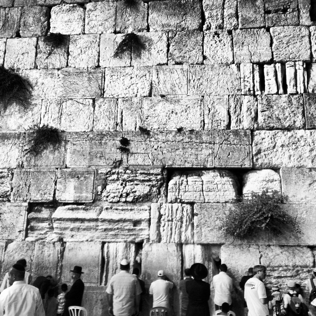 A beautiful shot of the Kotel. Photo by Aaron Kalman.