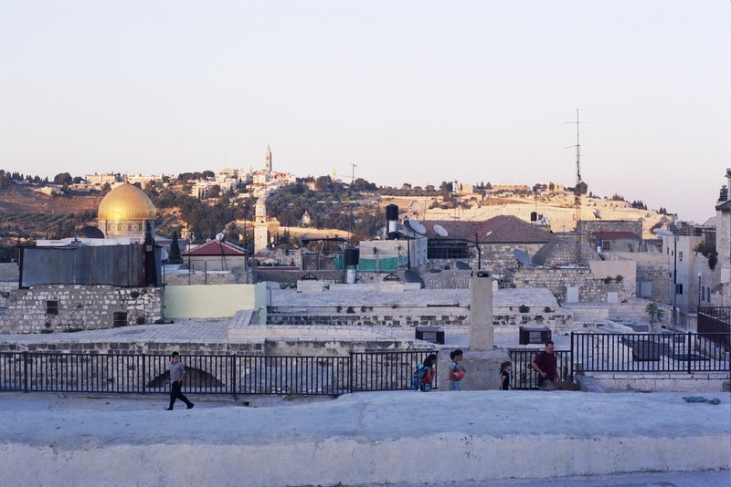 The roofs of Jerusalem. Photo by Heddy Abramowitz.