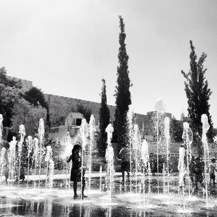 A gorgeous capture of the Teddy Fountains just outside of the Old City walls. Photo by Elie Leshem.