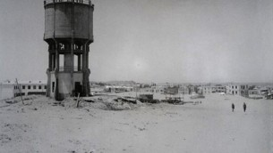 Water tower in Tel Aviv, 1924