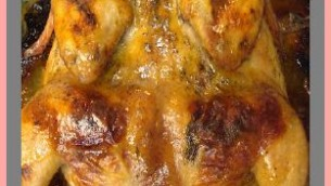 Grilled Butterflied Cornish Hens in a Honey Mustard Sauce