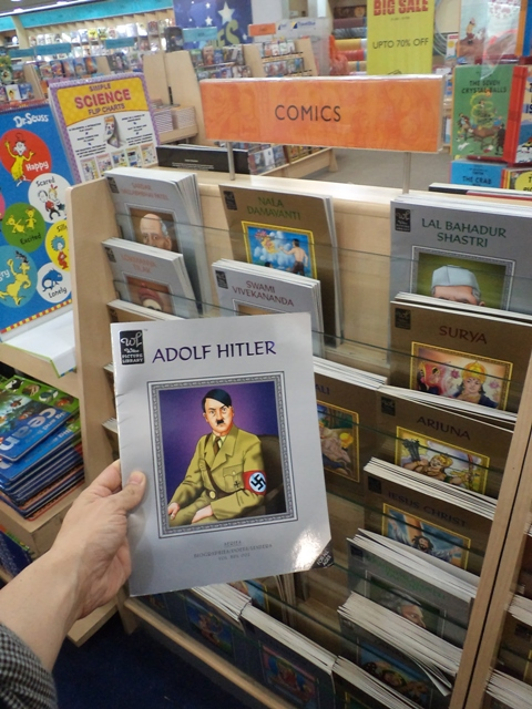 Hitler in comics