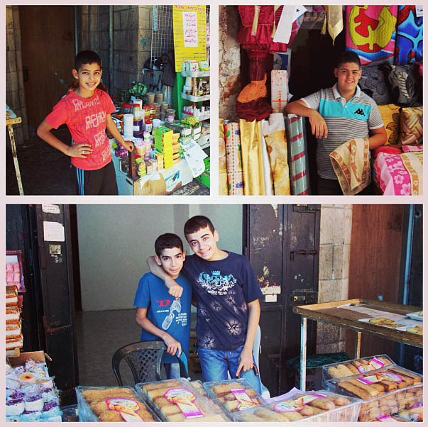 Young entrepreneurs of the old city. Photo submitted by Chris Humphreys