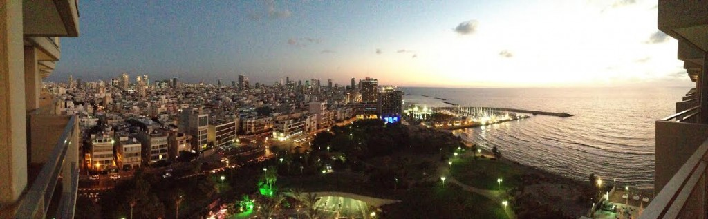 A stunning panoramic view of Tel Aviv. Photo by Brian John Thomas.
