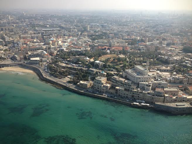Jaffa from the air.