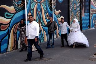 A wedding in Jaffa.