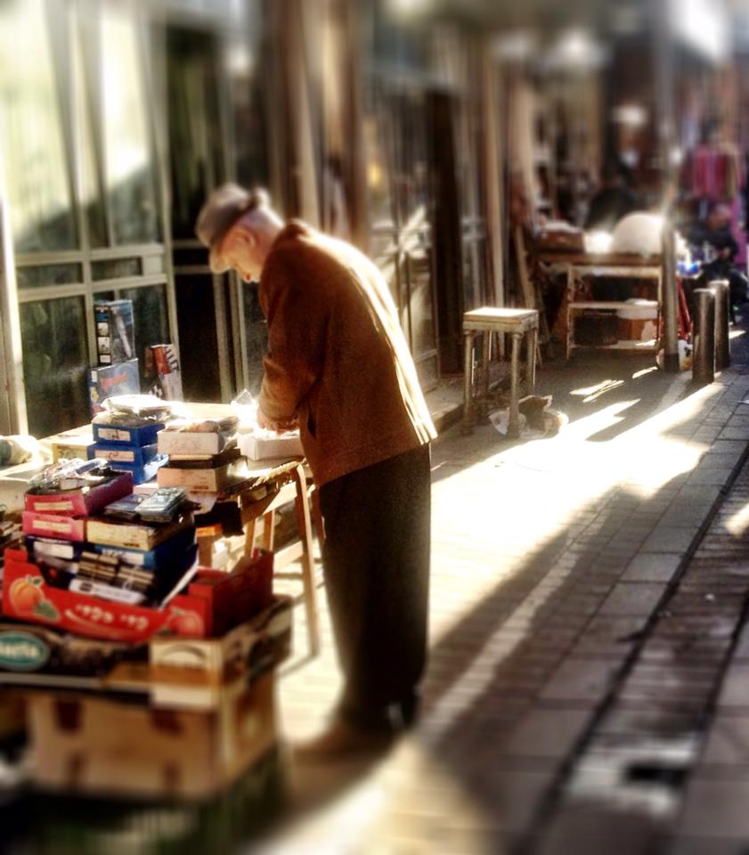 The bookseller of Jaffa.