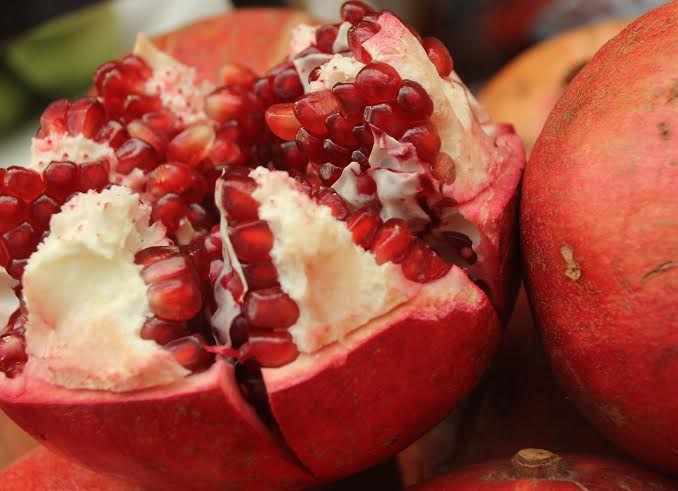 For pomegranates.  Photo by Yael Katz