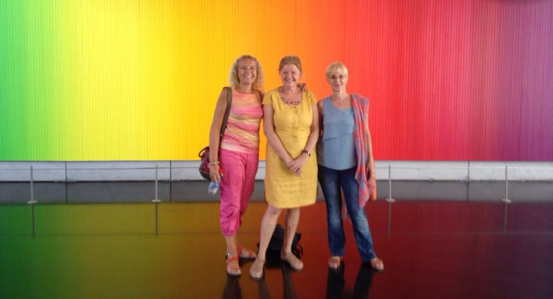 Rainbow girls at the Jerusalem Museum. Submitted by Bernice Keren.
