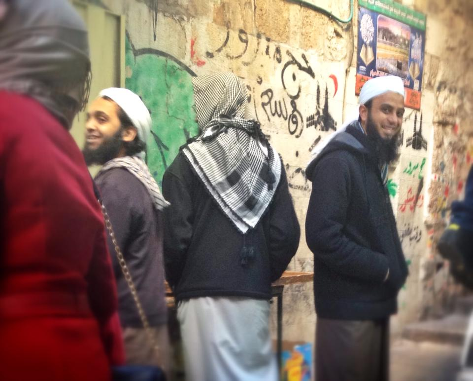 Salafists in Jerusalem.