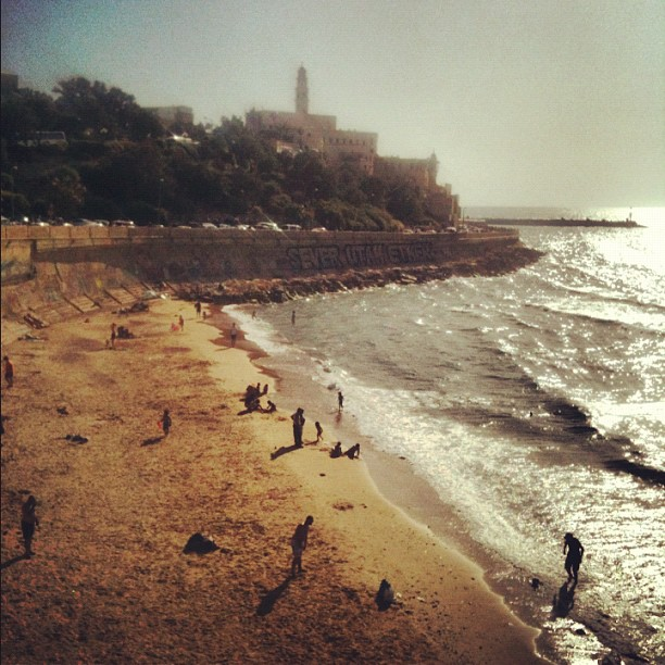 Facing Jaffa. Photo by Avi Mayer.