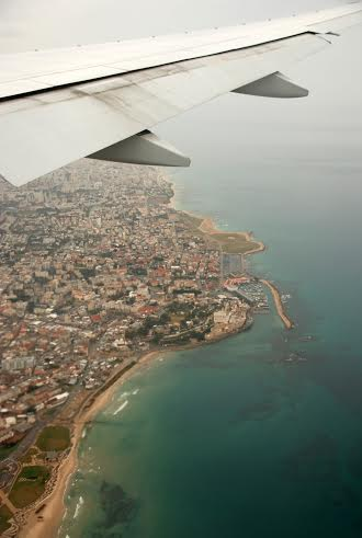 Tel Aviv by air.  Photo by William Greenfield