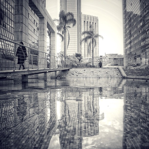 Reflections. Photo by @irahok on Instagram.