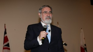 Lord Rabbi Jonathan Sacks in Los Angeles-Photo by Orly Halevy