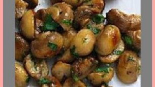 Sauteed Garlic Mushrooms