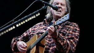 Canadian Musician Neil Young
