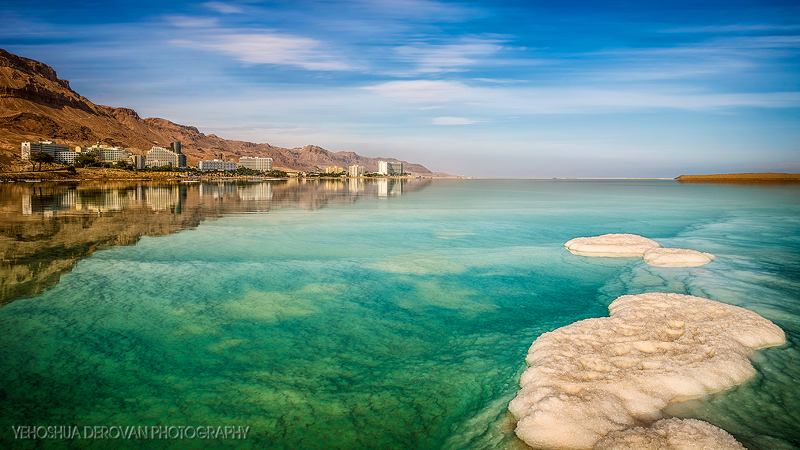 The Dead Sea  Photo by Yehoshua Derovan