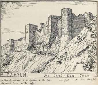 te_lawrence_--Qal'at Sayhun (Saone, Saladin)