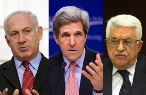 The players: Abbas, Netanyahu & Kerry