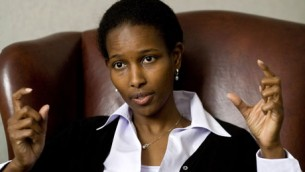 Ayaan Hirsi Ali. Photo Credit: The Guardian