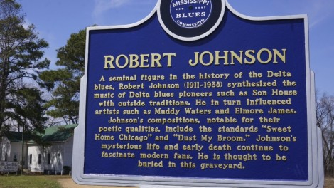 Robert Johnson... Story Teller Extraordinaire - influenced Eric Clapton, Bob Dylan, The Rolling Stones and many others...