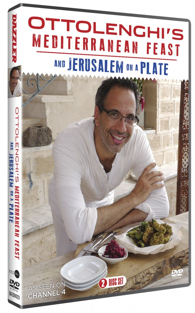 Yotam Ottolenghi's Mediterranean Feast and Jerusalem on a Plate