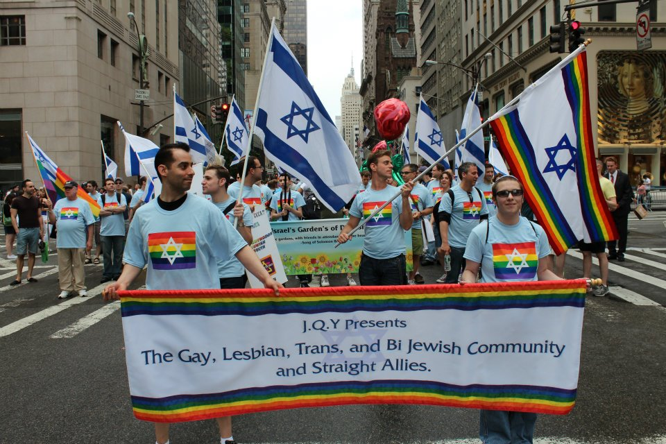JQY yeshiva boys celebrate pride, New York, 2011 (Photo courtesy of JQY)