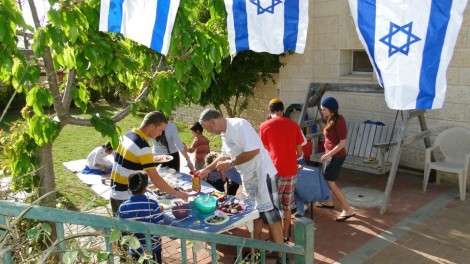 Yom Ha'Atzmaut barbecue
